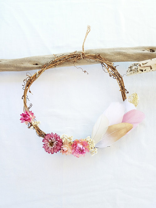 Wildflower Fairy Wreath 'Woodsprite'