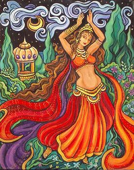 Workshop Dança indiana