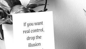 You can't control what you can't control...