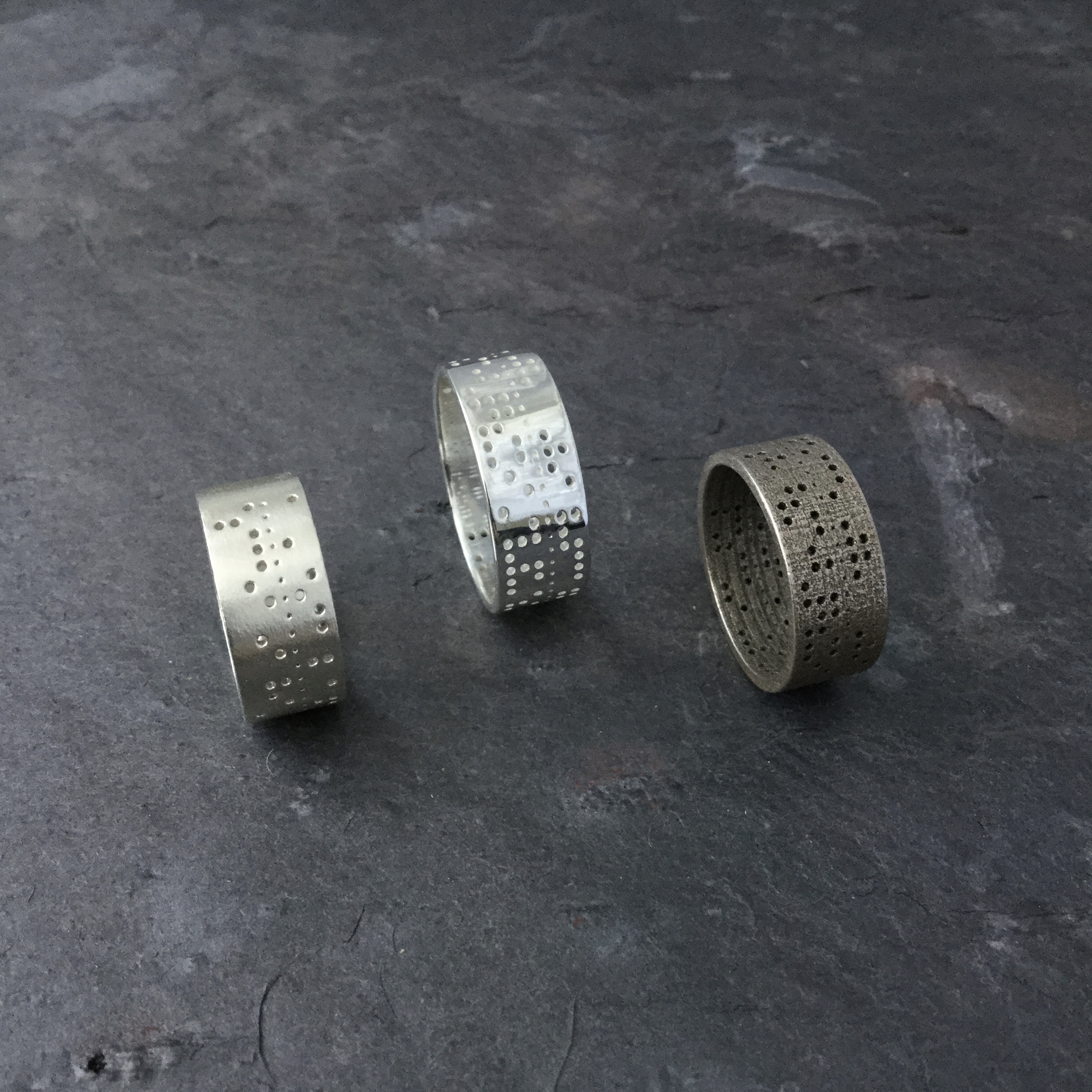 Punched Tape Ring Varieties