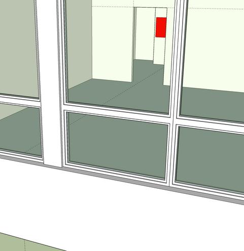 I enjoyed building the windows.