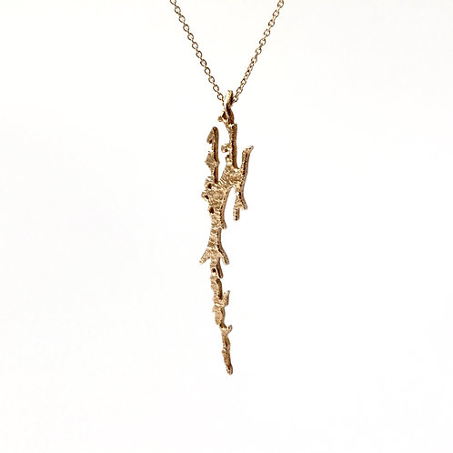 Netsjøen Lake pendant in bronze