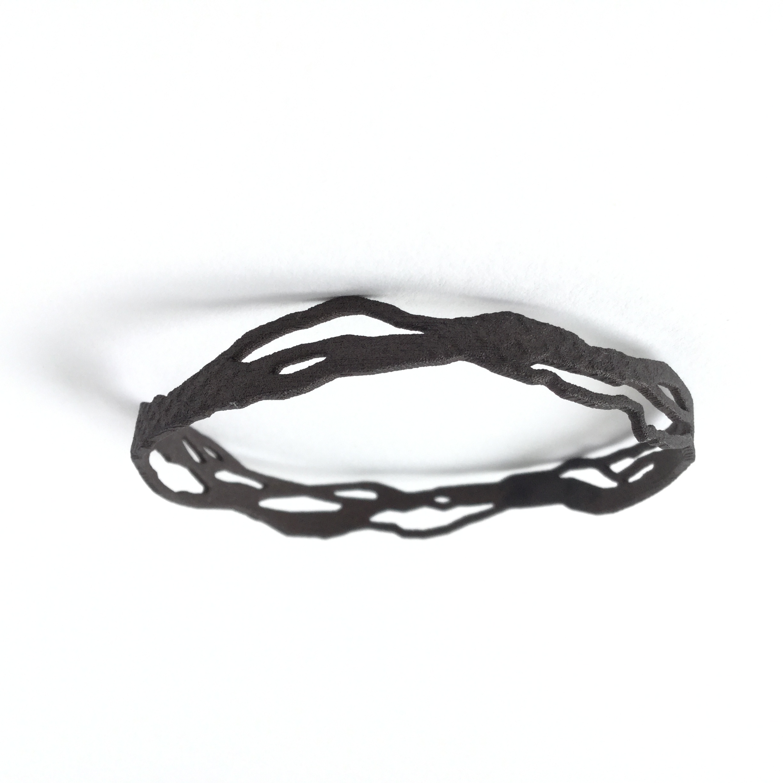Mississippi River Steel Bracelet