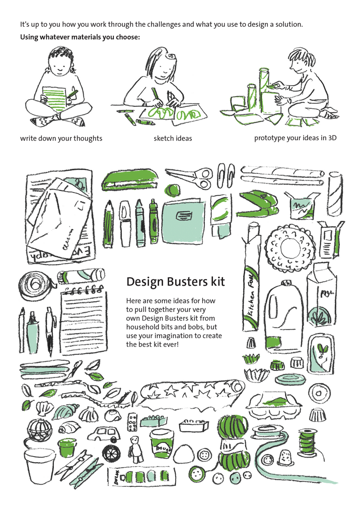 DESIGN BUSTERS