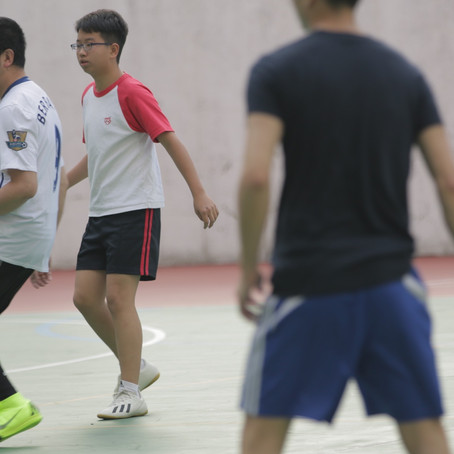Teachers and Students Football Competition