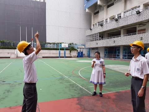 experiment in finding centripetal force.