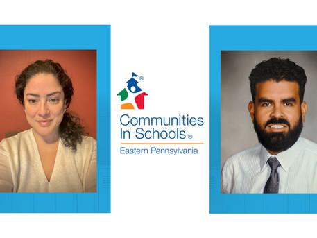 Communities In Schools of Eastern Pennsylvania Promotes Two Staff Members