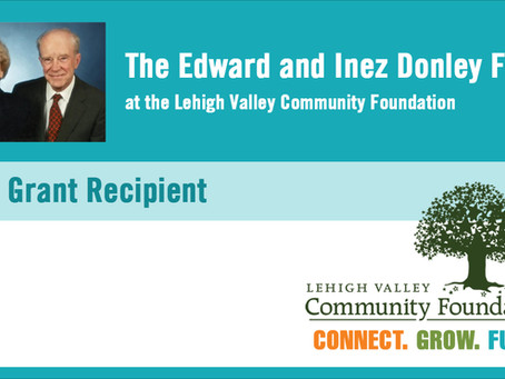 CIS of Eastern PA Awarded Grant from Edward & Inez Donley Fund at Lehigh Valley Community Foundation
