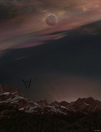THESE VOYAGES UNKNOWN // Concept Art, July 2020