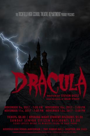 RICHFIELD SENIOR HIGH SCHOOL // Dracula, November 2017
