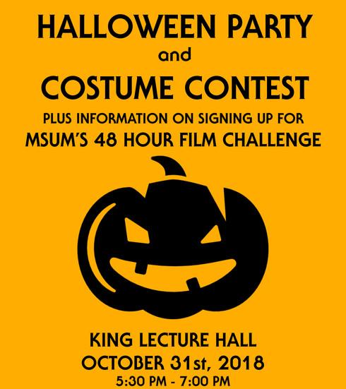 Cinethusiasts Halloween Poster (2018)