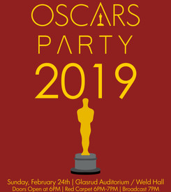 Cinethuiasts Oscars Party Poster (2019)