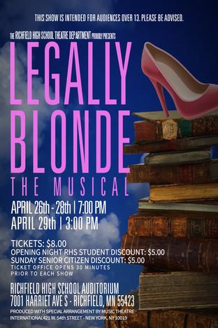 RICHFIELD SENIOR HIGH SCHOOL // Legally Blonde, March 2018