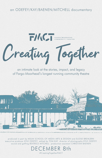 FMCT // Creating Together Documentary Poster, November 2019