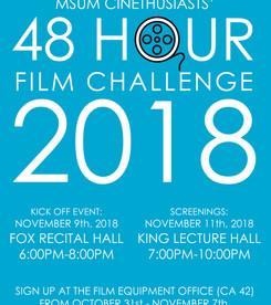 Cinethusiasts 48 Hour Film Challenge (2018)