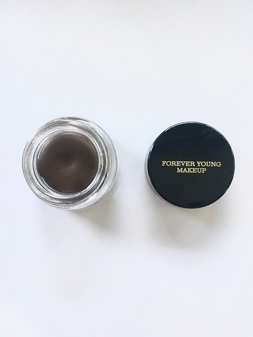 Dark brown gel eyeliner