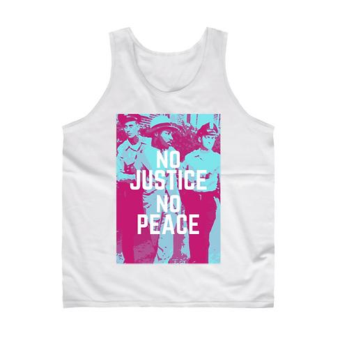 No Justice, No Peace Tank