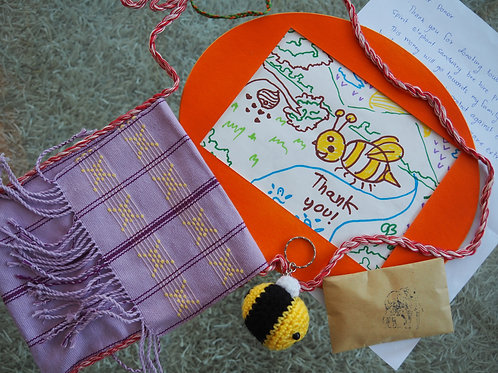 The Bee-autiful Bees for Ele's gift set