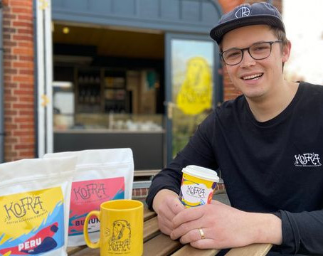 Norwich Evening News: 'It was screaming for a coffee shop' - Kofra opens new branch in Trowse