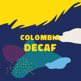 Decaf coffee - Colombia