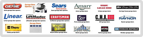 Garage door service brands