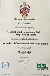 Erol's new certificate.jpeg