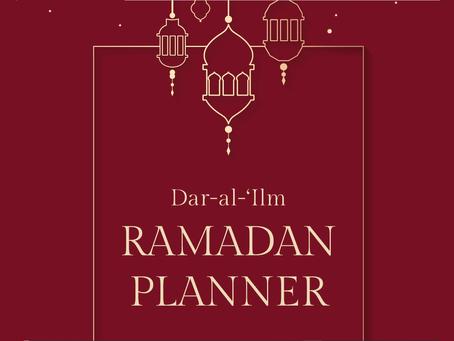 Ramadan planner - Dar-al-'Ilm