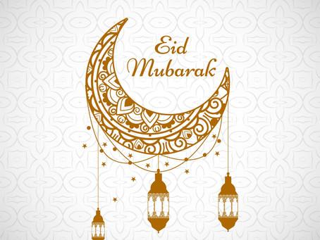 ICCW wenst iedereen een gezegend en gezond Eid Ul-Fitr!