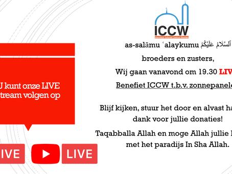 Vanavond 19.30 LIVE EVENT! Zonnepanelenactie Ramadan: Sadaka Jariya