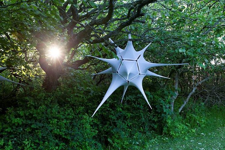 """land shape blokhus, """"Neurons"""" artwork"""