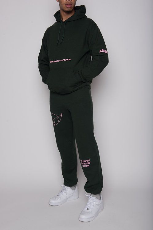 Broken to Peace Purpose Sweatsuit