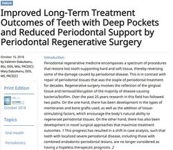 Oral Health Journal - 2018 Publication