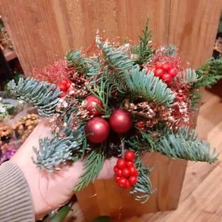 Kerststuk klein