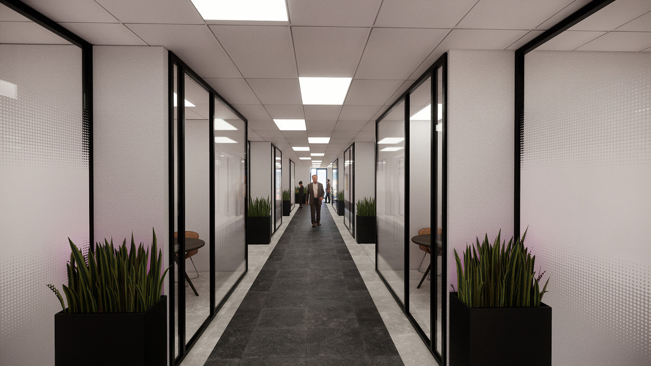 Closed Offices Passage