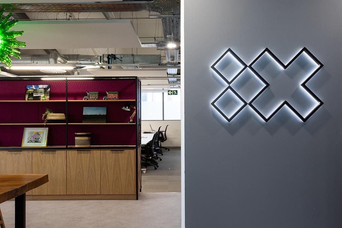 IBM IX Signage
