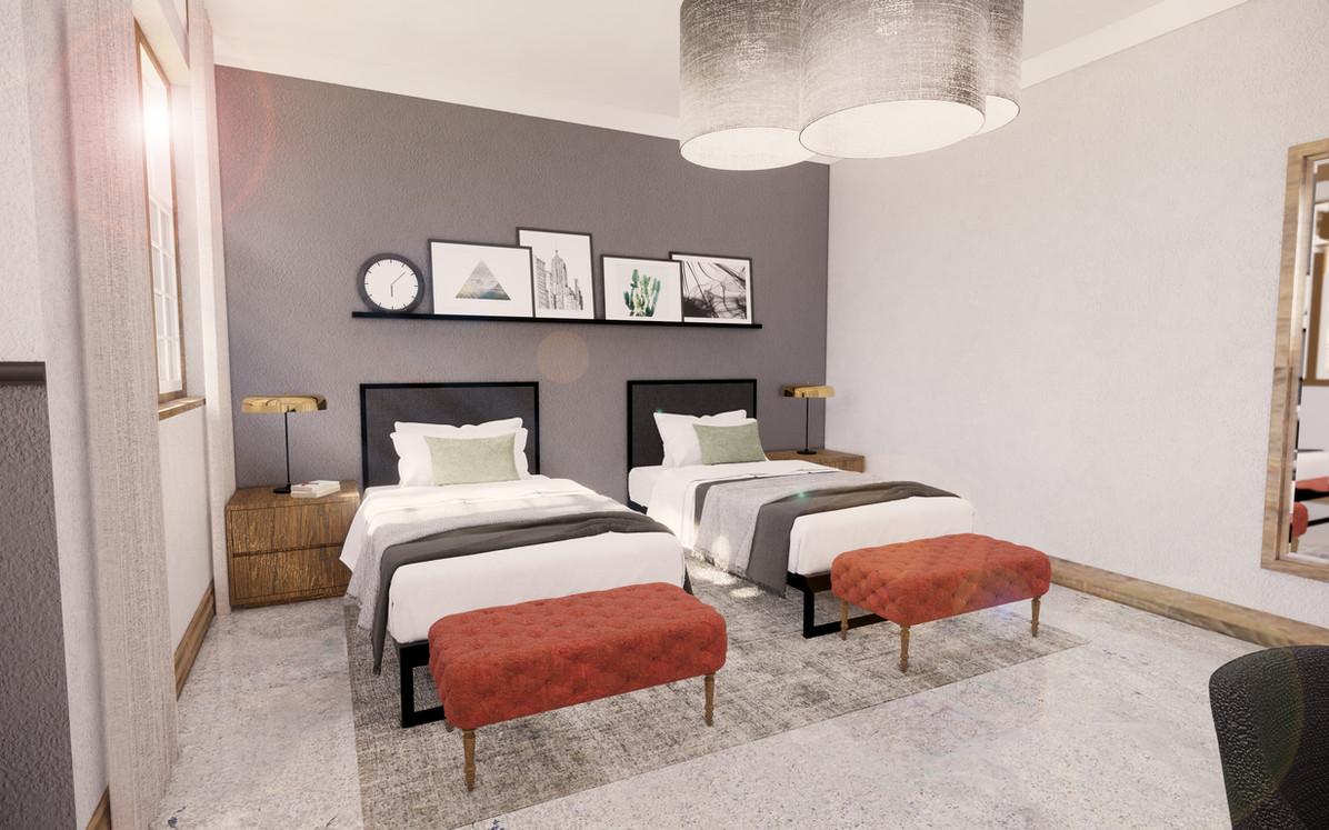 Bedroom Double Suite