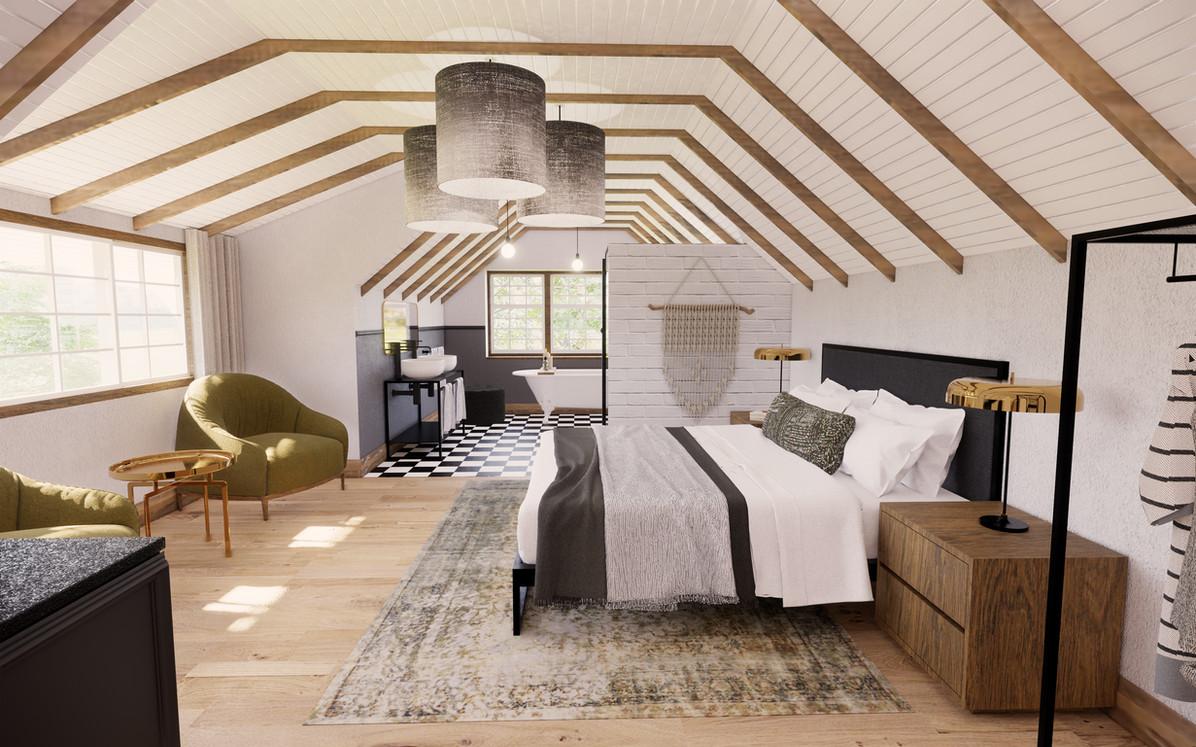 Bedroom King Luxury Suite
