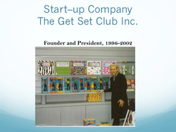Snapshot of The Get Set Club Inc