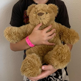 Weighted Teddy Bear for Sensory Children