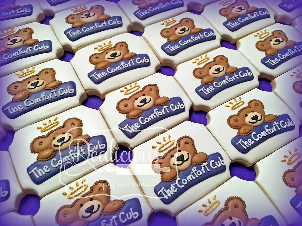 Frosted logo Comfort Cub cookies