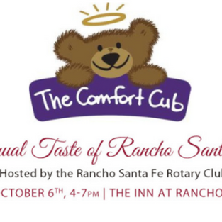 Comfort Cub at the Taste of Rancho Santa Fe