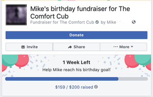 Step 5:Wait and Watch your fundraising goals