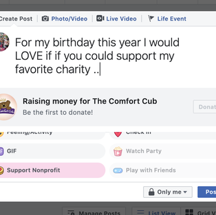 Facebook Fundraisers & Shop Smile Amazon!  Super Easy Ways to Help!