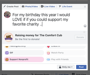 what are your fundraising goals?