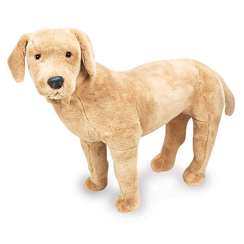 Yellow Lab Giant Plush