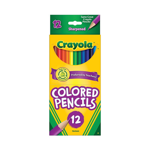 Crayola Colored Pencils 12 Pack