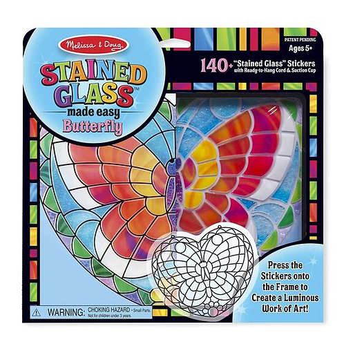 Stained Glass Made Easy Butterfly