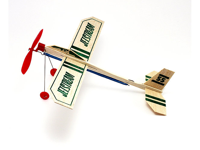 Balsa Wood Airplane Jet Stream