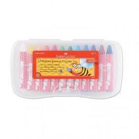 12 Brilliant Beeswax Crayons