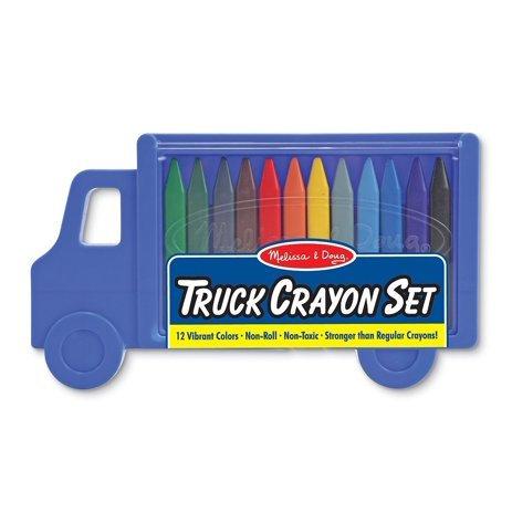 Truck Crayon Set 12 Colors